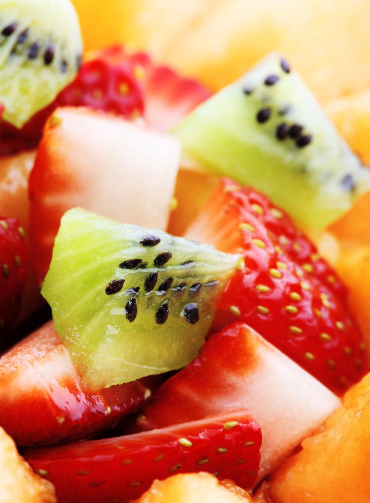 Fresh Fruit Salad With Honey-Mint Lime Dressing Recipe ...
