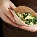 A Better Breakfast Pita Pocket