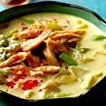 Crock Pot Buffalo Chicken Soup