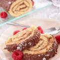Buche de Noel (Yule log cake )