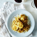 Caramelized Onion, Coconut and Egg Curry