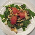 Caramelized Ruby Red Grapefruit Salad
