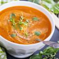 Chilled Tomato Yogurt Soup