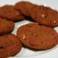 Chocolate Nutella Cookies
