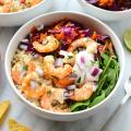 Cilantro Lime Shrimp Bowls