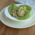 Couscous & Shrimp Salad with Garlic Dressing