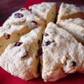 Cranberry Pine Nut Scones