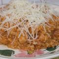 Dalmatian chicken risotto