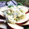 Dilled Egg Salad On Baby Spinach