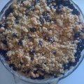 Easy Blueberry Crumble Pie
