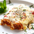 Easy Lasagna Stuffed Burritos