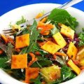 Field Greens Salad With Pineapple And Mint