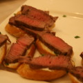 Filet Mignon with Horseradish Cream