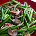 Garlic Shiitake Green Beans
