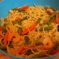 Garlic Shrimp with Pasta