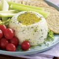 Goat Cheese Spread with Herbs and Olive Oil