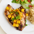 Grilled Chicken with Pineapple Salsa