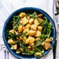 Lemony Roasted Potatoes & Broccoli Rabe