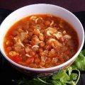 Lentil and Tomato Soup (Shawrabat Ada ma Banadoora)