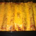 Mimis Cheesy Beef Enchilada