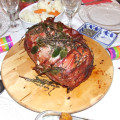 My Christmas Stuffed Turkey Breast with Prosciutto