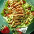 Pork and Pecan Salad with Honey-Balsamic Dressing