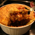 Pork Tamale Pie with Southwestern Crust