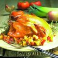 Roasted Chicken on a Bed of Winter Vegetables