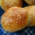 Sesame Hamburger Buns