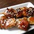 Skewered Honey-Balsamic Chicken