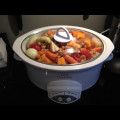Slow Cooker Moroccan Turkey Stew