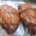 Smoked Bacon Wrapped Turkey Breasts