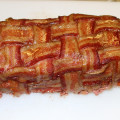 Smoked Bacon Wrappped Meat Loaf