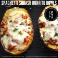 Spaghetti Squash Burrito Bowls