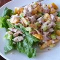 Steves Chicken Peach Salad