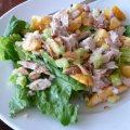 Steves Chicken Peach Salad