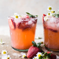Strawberry Chamomile Paloma