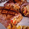 Stuffed & Grilled Flank Steak