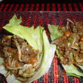 Thai Glazed Chicken Lettuce Wraps