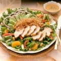 Turkey Bangkok Salad with Peanut Dressing