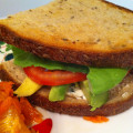 Vegetarian BLT with Avocado