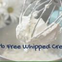 Keto Carb Free Whipped Cream
