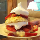 Strawberry Shortcakes (Heart Healthy Bisquick)