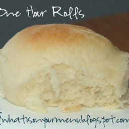 What is on your menu 1 Hour Rolls