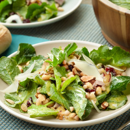 10-Minute Ham, White Bean and Kale Salad