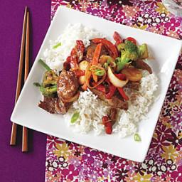 12-oz. bag frozen Asian vegetable mix (such as broccoli, carrots, snow peas