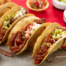 15-Minute Stir-fried Steak Tacos