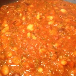 16 bean soup, vegetarian