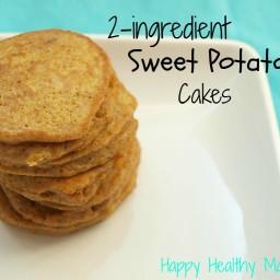 2-ingredient sweet potato cakes {gluten-free, dairy-free, nut-free}