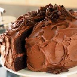 2004 Bon Appetit Devil's Food Cake with Chocolate-Orange Buttercream